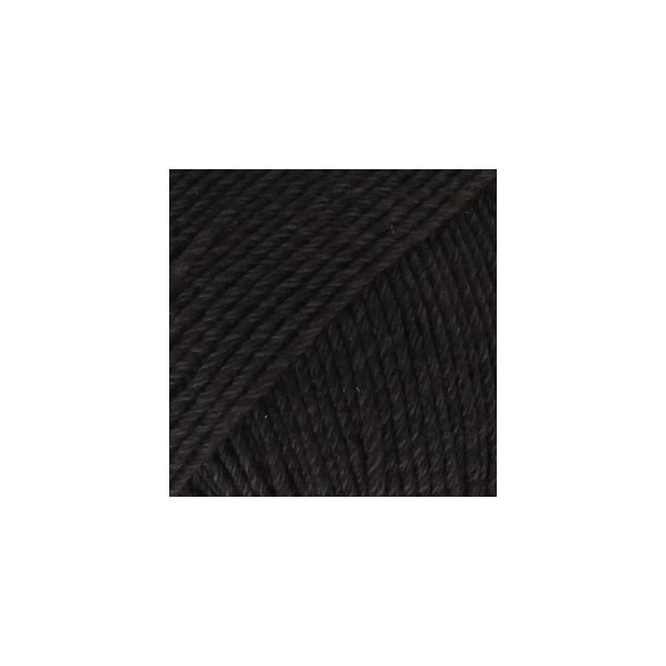DROPS - Cotton Merino Fv: 02 - Sort