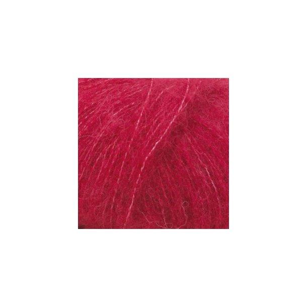 DROPS Brushed Alpaca Silk Garn Unicolor Fv. 07 Rød