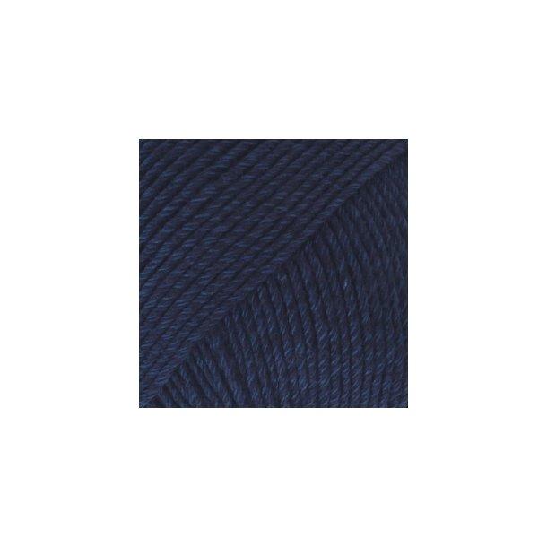 DROPS - Cotton Merino Fv: 08 - Marine Blå