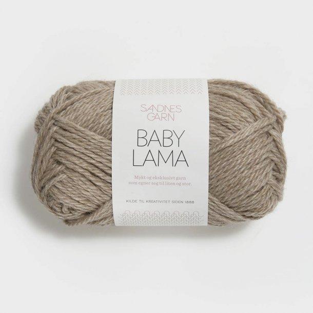 Sandnes - Baby Lama Fv. 3025 Natur Meleret Beige ...
