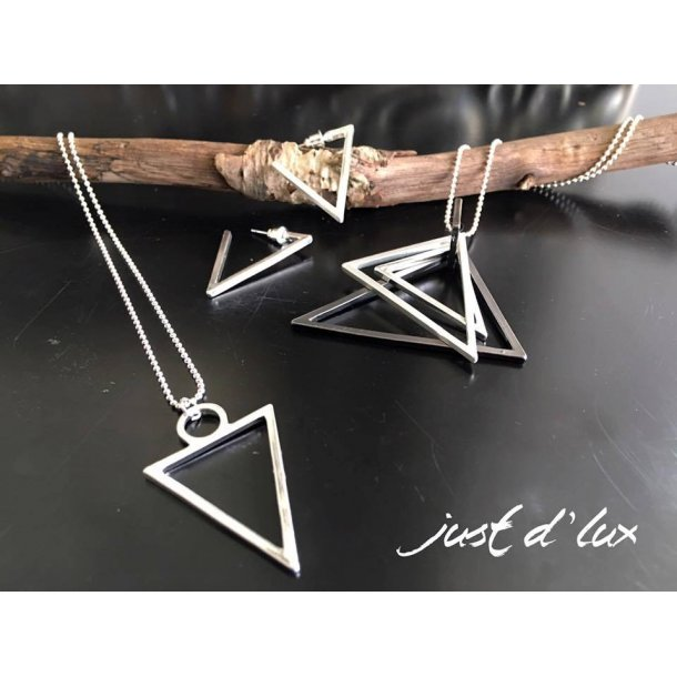 Necklace Triple - Just d´lux. Triangles