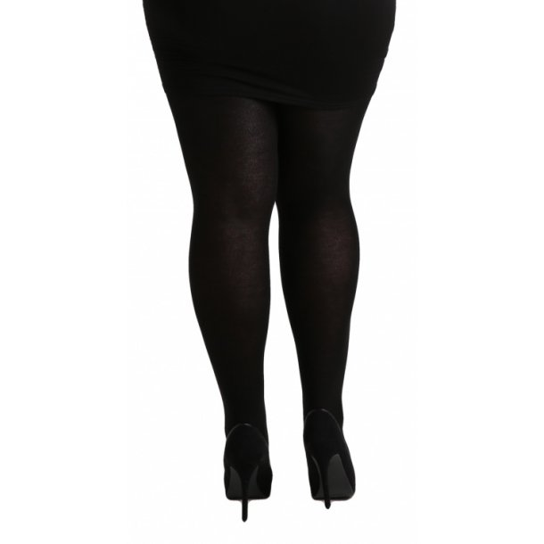 140 Denier Opaque Tights - Black str. 44-46