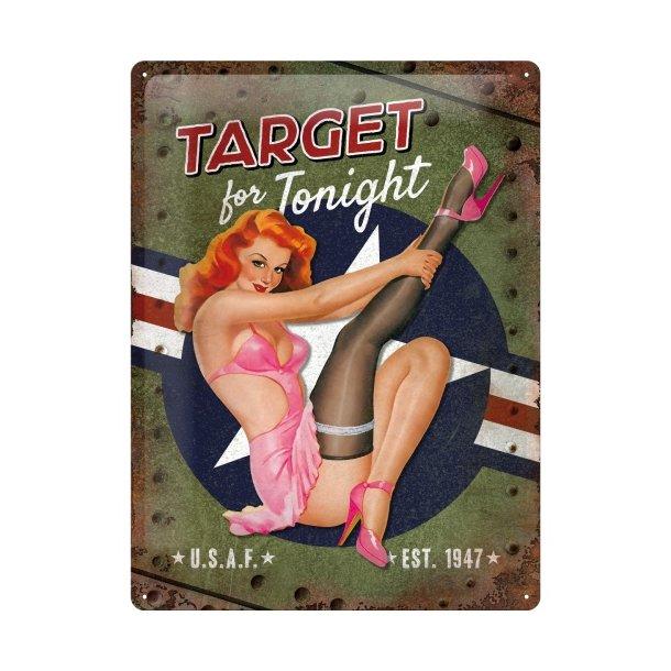 Emalje Barskilt - B68 - Target for tonight. 30x40cm.