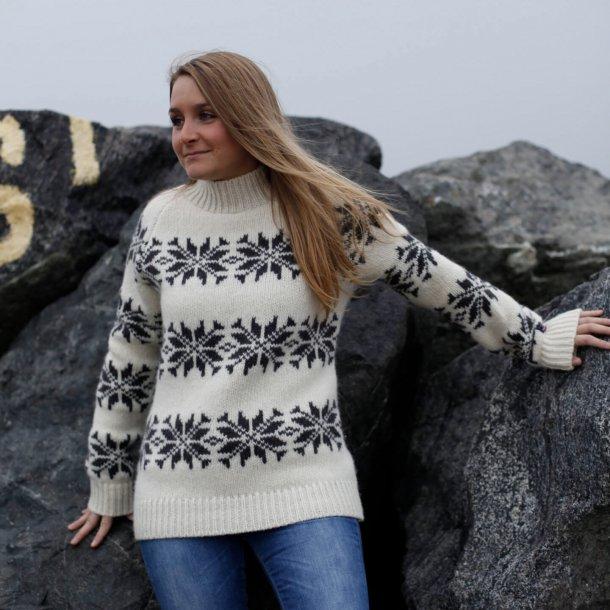 islandsk uld sweater