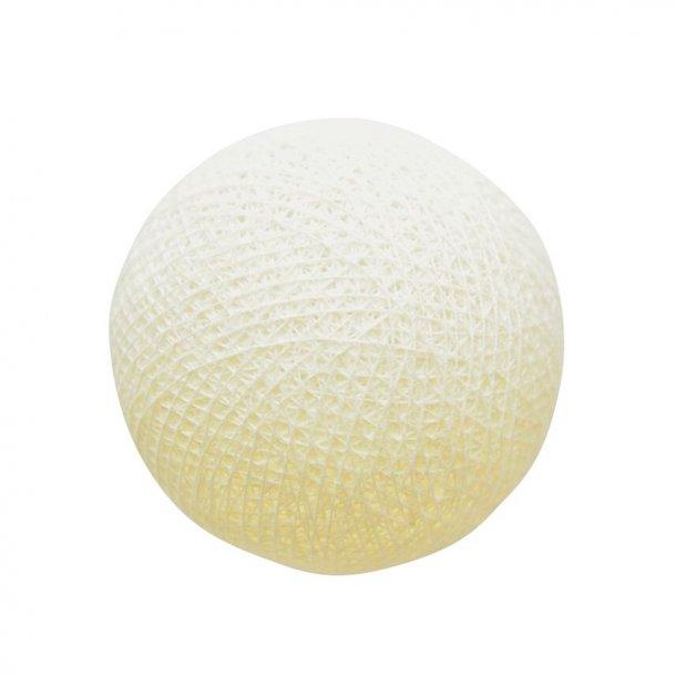 Bold til lyskæde - Ivory / Elfenben   (no.5051)