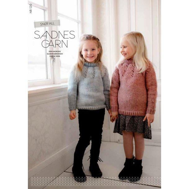 Snøfall Barn - Sandnes Garn - Enkeltopskrift nr. 120