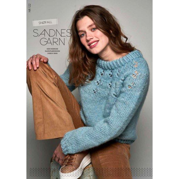Snøfall Dame - Sandnes Garn - Enkeltopskrift nr. 121