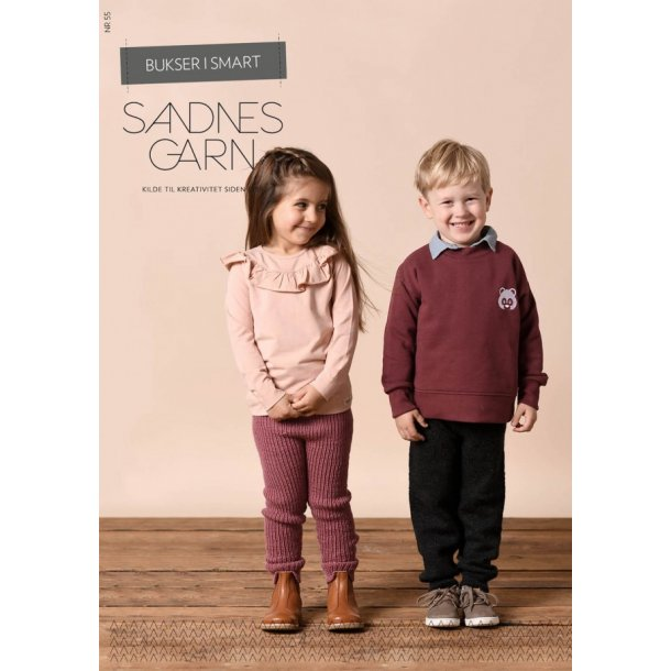 Bukser i Smart - Sandnes Enkeltopskrift Kits 55.