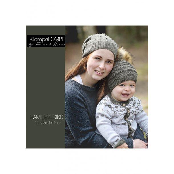 KlompeLOMPE - Familiestrikk (opskriftshæfte)