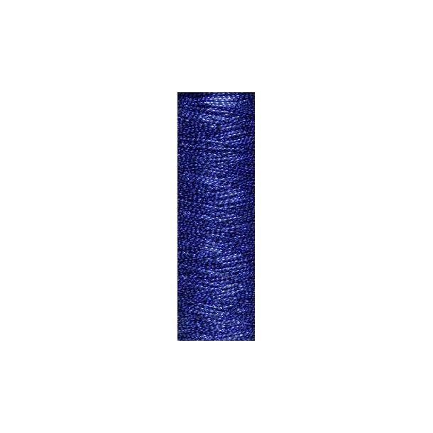 Lang Yarns - Deco Glimmertråd Fv. 0006 Blå