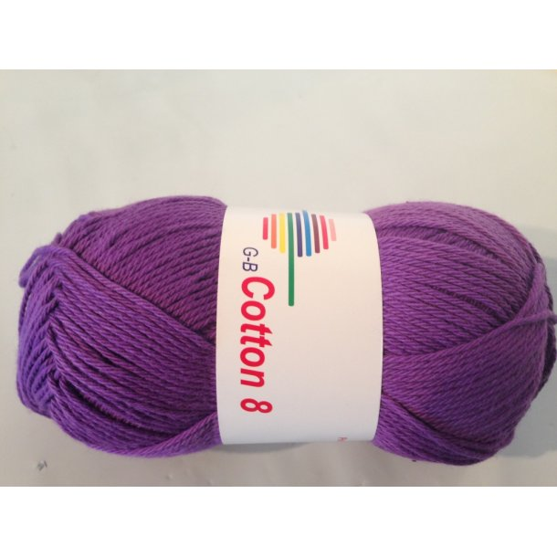 Cotton 8 Fv. 1510 - Lilla