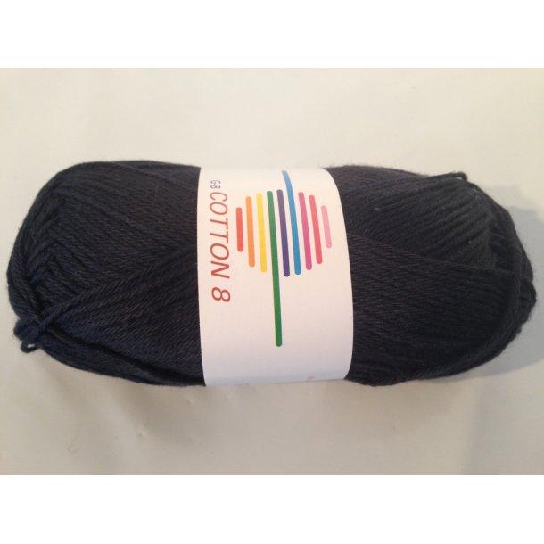 Cotton 8 Fv. 1050 - Sort