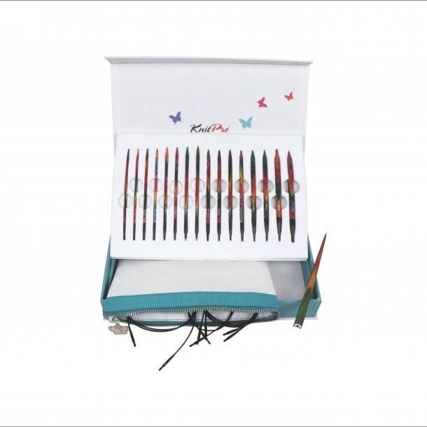 Knit-Pro Strikkepindesæt udskiftelige - XL sæt med 8 str. (no20636)