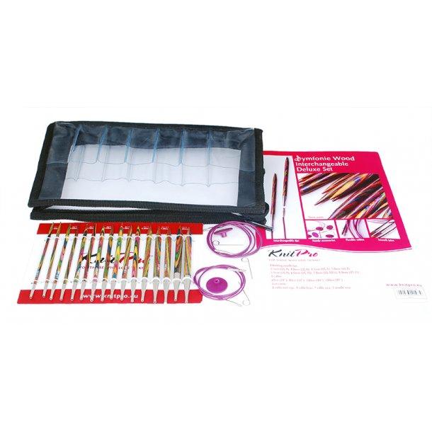 Knit-Pro Strikkepindesæt udskiftelige - XL sæt med 8 str. (no20613)
