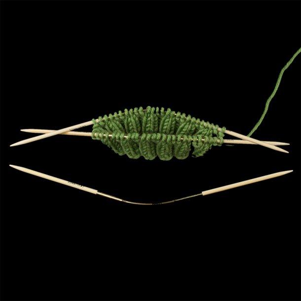 Addi Crasy Trio Bamboo - Strømpepinde.