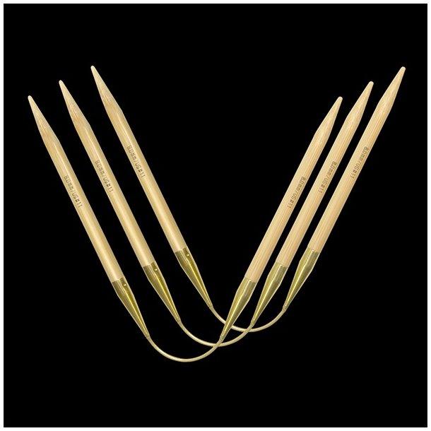 Addi Crasy Trio Bamboo Long - Strømpepinde.