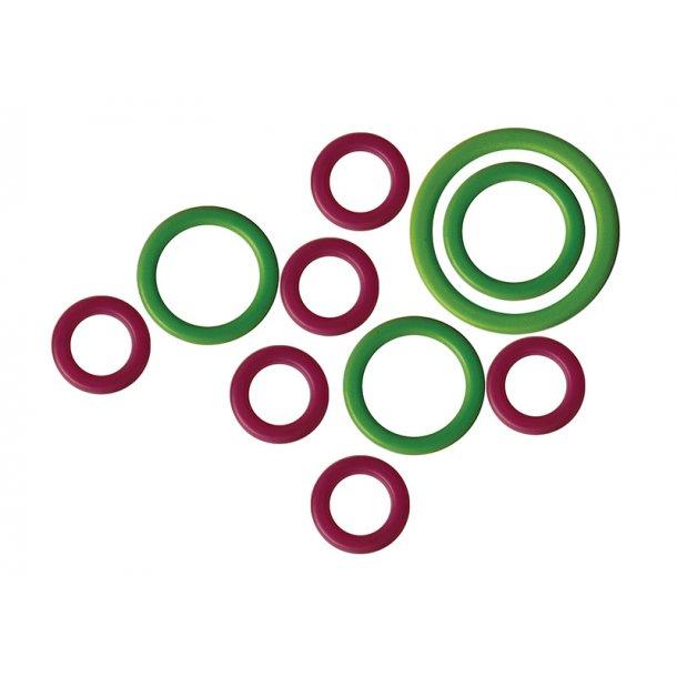 KnitPro - Markeringsringe Runde 50 stk 3 størrelser 50 stk. (10801)