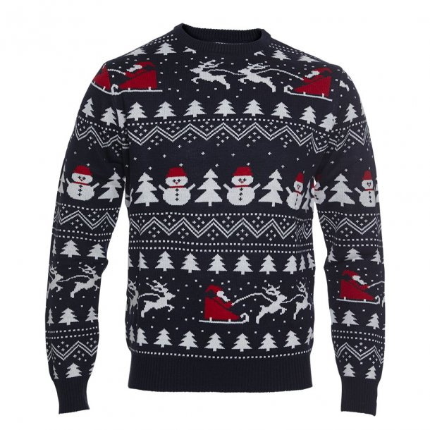 Den Stilede Julesweater