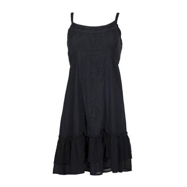 Kjole - kort model Fv. Mørk grå.