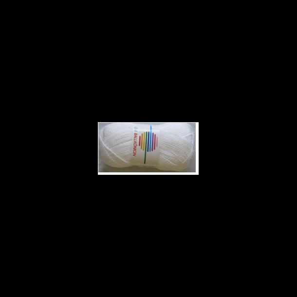 BALKÖNIGIN HVID/FARVET REFLEKS - 1001