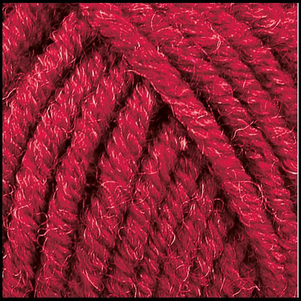 Luva 50 gr. Fv. 33118 - Rubin Rød