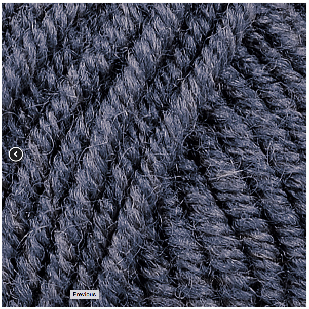 Luva 50 gr. Fv. 33117 - Denim Blå