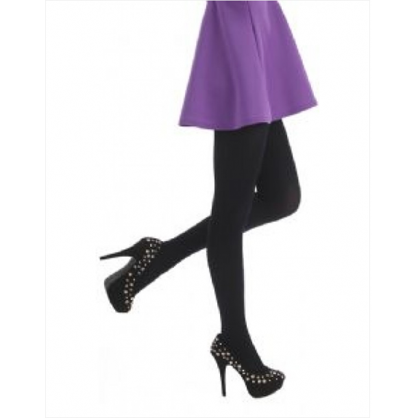 Tights OneSize (34-42) 80 Denier Fv. Sort