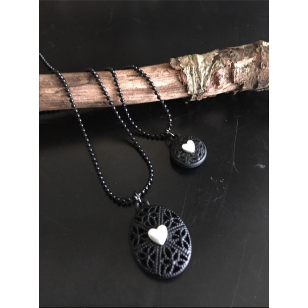 Necklace Double - Just d´lux. With hearts