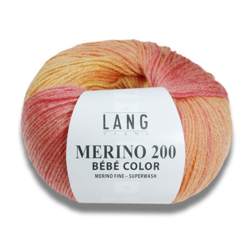 Lang Yarn Merino 200 Thecornershop Dk Billigt Garn