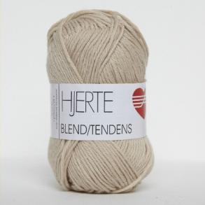BLEND/TENDENS - HJERTEGARN  SPAR 25%