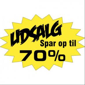 TILBUD -50-70%