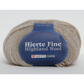 HJERTEFINE HIGHLAND WOOL -25% RABAT