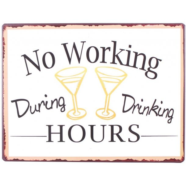 Barskilt - B12 - No working during drinking hours