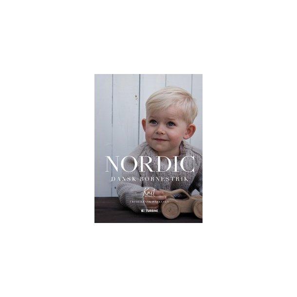 NORDIC  Dansk Børnestrik  - Opskriftsbog af Trine Frank Påskesen