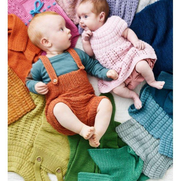 Farverig babystrik - Opskriftshæfte af Charlotte Kaae