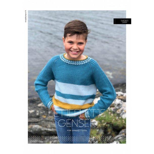 Lette-Flette Genseren - Sandnes Garn - Enkeltopskrift