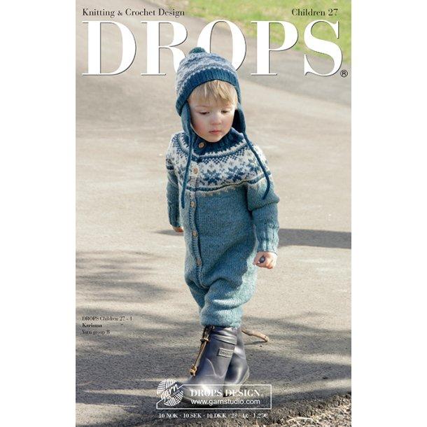 Drops Børne katalog med strikke- og hækleopskrifter nr. 27