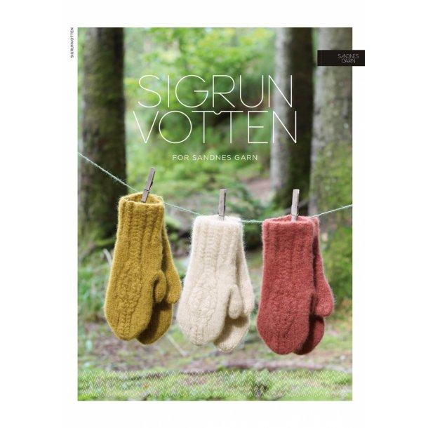 Sigrun Votten - Sandnes Garn - Enkeltopskrift.