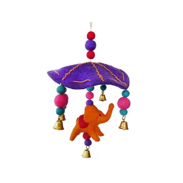 Gamcha - Uro Paraply med Elefant